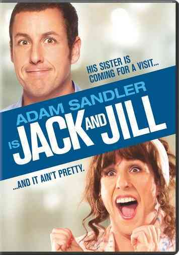 JACK AND JILL BY SANDLER,ADAM (DVD)