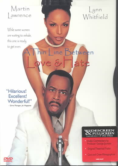THIN LINE BETWEEN LOVE & HATE BY LAWRENCE,MARTIN (DVD)